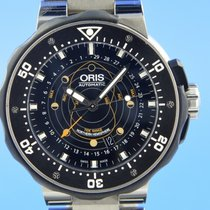 Oris ProDiver Pointer Moon Titânio 49mm Preto