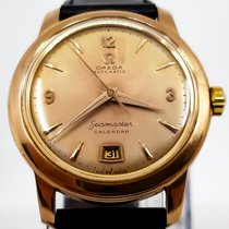 Omega Or rose Remontage automatique Champagne Arabes 37.5mm occasion Seamaster
