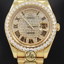 Rolex Day-Date II Yellow gold 41mm Champagne Roman numerals United States of America, Florida, Boca Raton