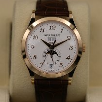 Patek Philippe Annual Calendar Rose gold 38.5mm Silver Arabic numerals United States of America, Tennesse, Nashville