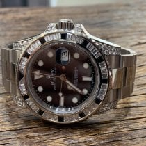 Rolex 116759SANR Or blanc GMT-Master II 40mm