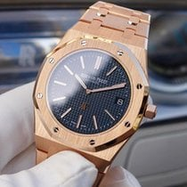 Audemars Piguet Royal Oak Jumbo occasion 39mm Or rose