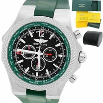 Breitling Bentley GMT Steel 49mm Green United States of America, New York, Massapequa Park