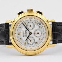 Zenith El Primero Chronomaster Yellow gold 40mm White Arabic numerals
