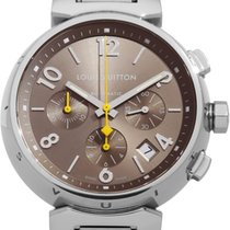 Louis Vuitton Steel 40mm Automatic Q1122 pre-owned