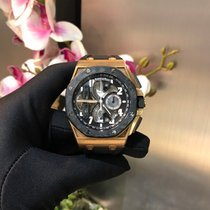 Audemars Piguet Royal Oak Offshore Tourbillon Chronograph Rose gold 44mm Black Arabic numerals Indonesia, Jakarta Selatan