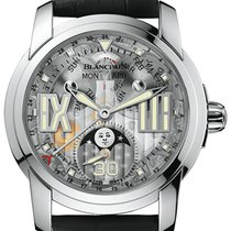 Blancpain White gold Automatic 43,5mm new L-Evolution
