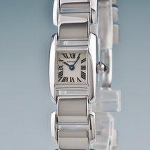 Cartier Weißgold 17mm Quarz W650029H gebraucht