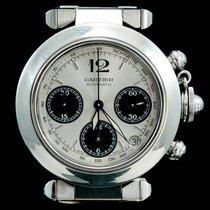 Cartier Pasha C Acier 36mm Gris Arabes