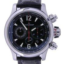 Jaeger-LeCoultre Master Compressor Chronograph 2 Acero Negro Árabes