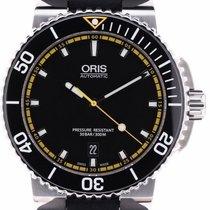 Oris Aquis Date 733 7653 4127 2014 new