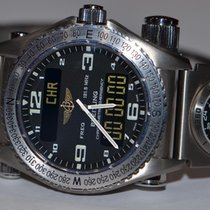 Breitling E56321 Titanium Emergency 43mm pre-owned United States of America, New York, Greenvale