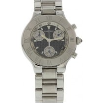 Cartier Must 21 Chronoscaph Stainless Steel 2424