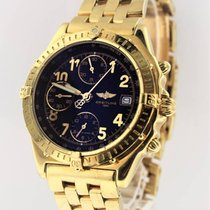 Breitling Chronomat 18K Yellow Gold on Bracelet K13050.1