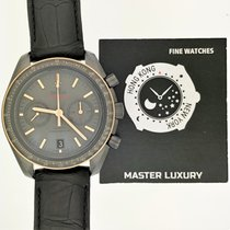 歐米茄 311.63.44.51.06.001, Speedmaster, Grey Dial, Ceramic&Leather