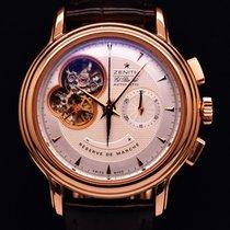 Zenith El primero Chronograph Open Rose Gold