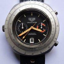 Heuer 110.633 Staal 1972 45mm tweedehands Nederland, Bussum
