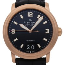 Blancpain 40mm Automatic pre-owned Léman (Submodel) Black