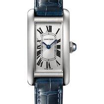Cartier Tank Américaine new 2019 Quartz Watch with original box and original papers WSTA0016