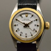Rolex Oyster Perpetual 26 Goud/Staal 26mm Wit Romeins Nederland, Maastricht