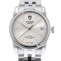 Tudor Glamour Date подержанные 36mm Сталь