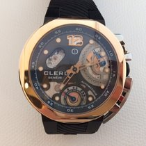 Clerc Gold/Steel 44mm Automatic Clerc new