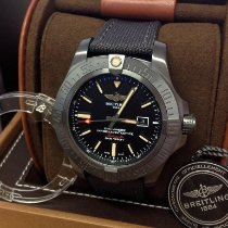 Breitling Avenger Blackbird Titanium 48mm Zwart
