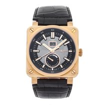 Bell & Ross Rose gold Automatic Grey No numerals 42mm pre-owned BR 03-90 Grande Date et Reserve de Marche
