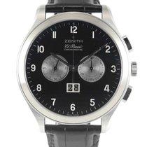 Zenith El Primero Chronograph Staal 44mm Zwart