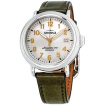 Shinola Steel 38mm Quartz S0120109232 new