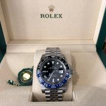 Rolex GMT-Master II Zeljezo 40mm Crn Bez brojeva
