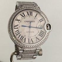 Cartier Ballon Bleu 42mm WE902006 Muy bueno Oro blanco Automático