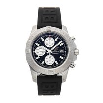 Breitling Colt Chronograph Automatic pre-owned 41mm Black Chronograph Date Tachymeter Rubber