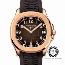 Patek Philippe Aquanaut Or rose 40mm Brun Arabes