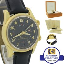 Girard Perregaux Traveller Yellow gold 38mm Black United States of America, New York, Huntington