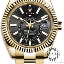 Rolex Yellow gold Automatic Gold No numerals 42mm new Sky-Dweller