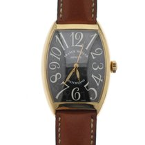 Franck Muller Rose gold Automatic Black Arabic numerals 47mm pre-owned Casablanca