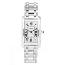 Cartier Tank Américaine White gold 36mm Silver Roman numerals United States of America, Pennsylvania, Bala Cynwyd
