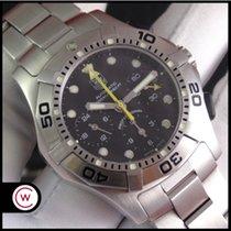 TAG Heuer Aquagraph Steel 43,2mm Black No numerals