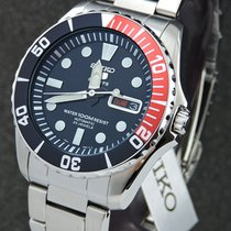 Seiko new Automatic Display Back Center Seconds Luminescent Hands Rotating Bezel Quick Set Only Original Parts Luminous indexes 41mm Steel Mineral Glass