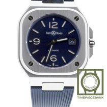 Bell & Ross BR 05 Steel 40mm Blue Arabic numerals