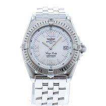 Breitling Wings Lady Steel 31.5mm White