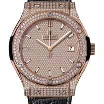 Hublot Rose gold Automatic 42mm new Classic Fusion 45, 42, 38, 33 mm