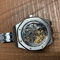 Audemars Piguet Royal Oak Double Balance Wheel Openworked 15407ST.OO.1220ST.01 2017 pre-owned