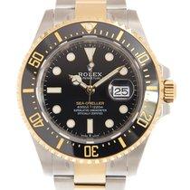 Rolex Sea-Dweller Deepsea Acero y oro 43mm Negro