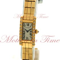 Cartier Lanières Yellow gold 14.6mm Silver Roman numerals United States of America, New York, New York