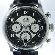 Oris Mens Chronograph Wristwatch Raid 2011
