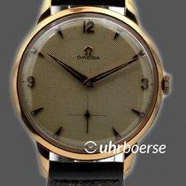 Omega Overzize Vintage Honeycomb Handaufzug Rósegold 18kt 2687