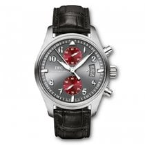 IWC Pilots Watch Chronograph Spitfire  grey Dial Automatic...
