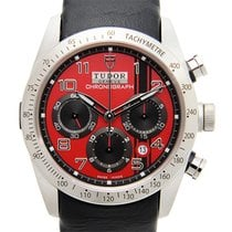 Tudor Fastrider Stainless Steel Red Automatic 42000D